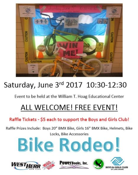 bike rodeo flier